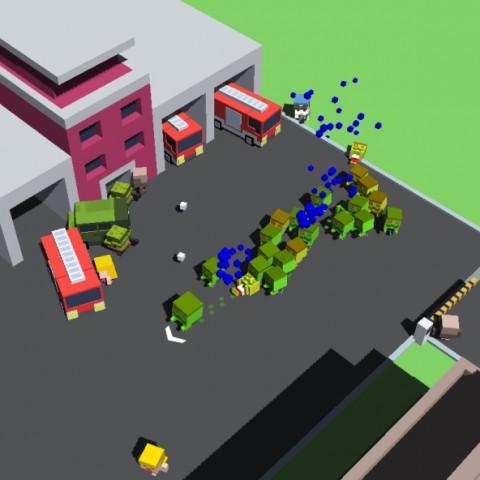 小方塊大激鬥!ZPLAY創意休閒策略手遊《ZombieIsland》全球上線