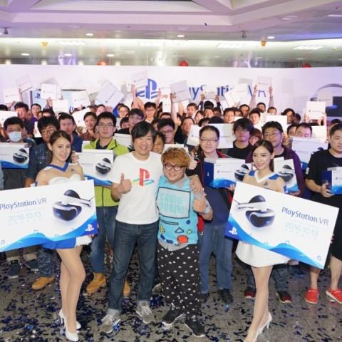 PlayStation® VR 在台登場,上市慶祝活動大成功!