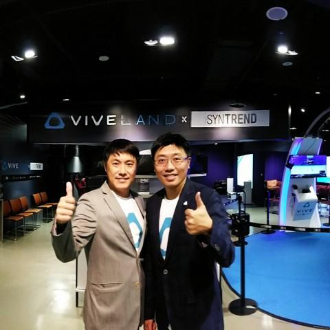 HTC聯手三創生活園區,打造HTC第一間VIVELAND™虛擬實境樂園