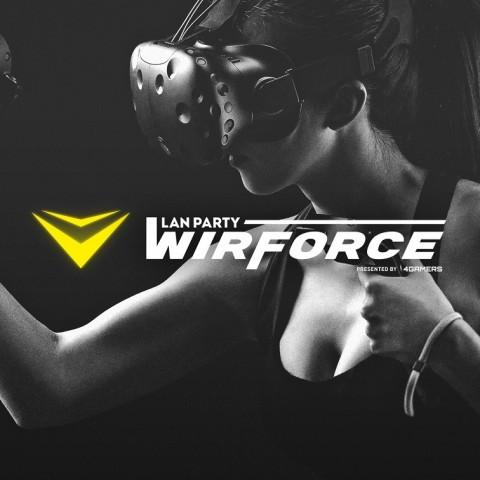 亞洲最大電競嘉年華WirForce 2016開展倒數三天!全台玩家準備好了!