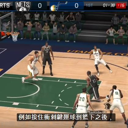 【新手遊試玩】NBA LIVE Mobile:勁爆美國職籃
