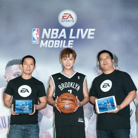 《NBA LIVE Mobile》首版更新上線,體院高材生李國毅化身豪小子帥氣現身