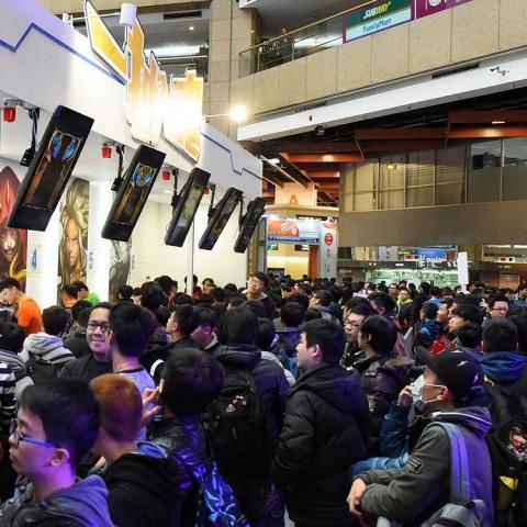 【2017TpGS】台北國際電玩展最後日人潮不減 總人數突破四十萬