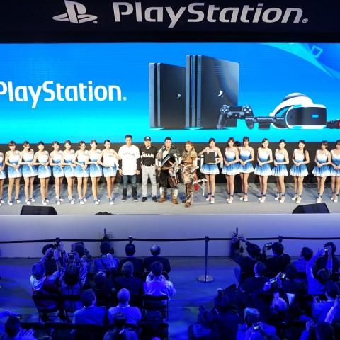 【2017TpGS】2017台北國際電玩展PlayStation®攤位盛大揭幕