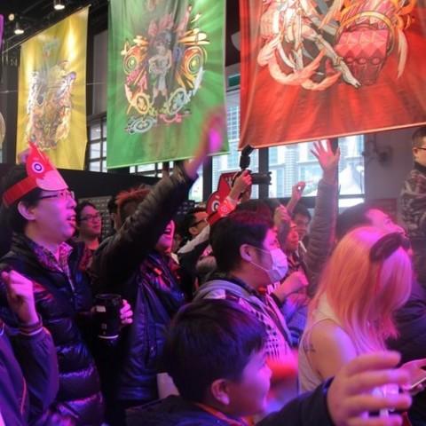 【2017TpGS】Google Play、怪物彈珠、台灣館展區各手機行動娛樂百花爭艷吸引萬眾目光