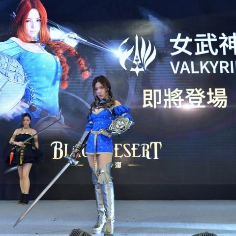 【2017TpGS】《黑色沙漠》第8職業「女武神」電玩展限定體驗!