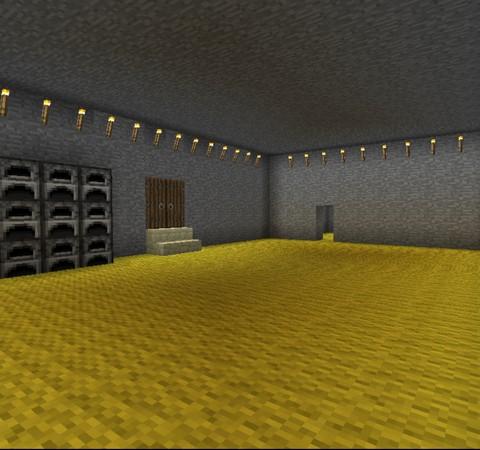 Minecraft:小雪的地下秘密基地5「將基地外觀美化一下(下)」