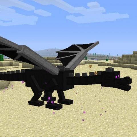 10萬個TNT炸藥能不能炸死終界龍?Minecraft流言終結測試