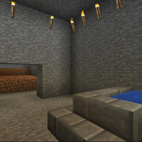 Minecraft:小雪的地下秘密基地10「地下三樓的農場上篇」