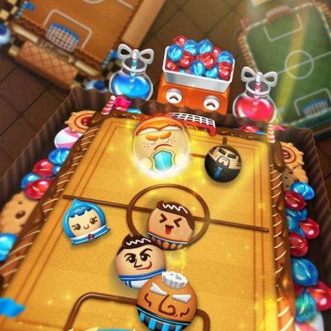 爽酷足球競技遊戲《王牌射手》(Cookie Soccer)11月2日全球雙平臺震撼上線