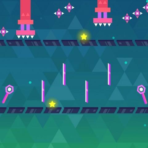 《幾何逃脫》必玩橫版闖關遊戲,12月28日正式於雙平臺上架